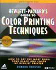 Book Cover HP Guide to Color Printing Techniques:: How to Get the Most from Your Black and Color HP DeskJet Printer