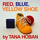 Book Cover Red, Blue, Yellow Shoe