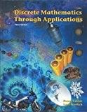 Book Cover Discrete Mathematics Through Applications, Third Edition