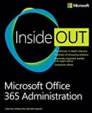 Book Cover Microsoft Office 365 Administration Inside Out