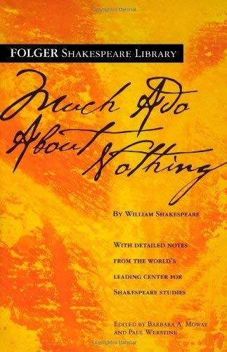 Book Cover Much Ado About Nothing (Folger Shakespeare Library)