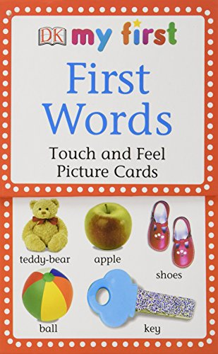 My First Touch & Feel Picture Cards: First Words (My 1st T&F Picture Cards)