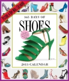 Book Cover 365 Days of Shoes 2013 Wall Calendar