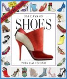 Book Cover 365 Days of Shoes 2015 Wall Calendar