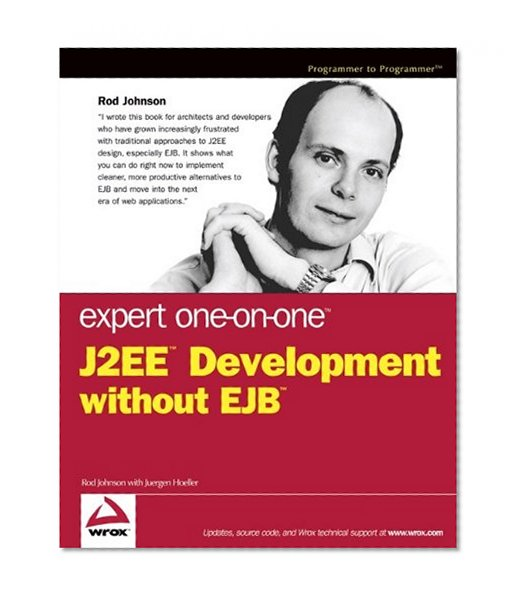 Book Cover Expert One-on-One J2EE Development without EJB