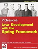 Book Cover Professional Java Development with the Spring Framework