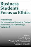Book Cover Business Students Focus on Ethics (Praxiology)
