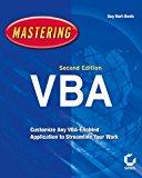Book Cover Mastering VBA