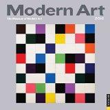 Book Cover Modern Art 2016 Wall Calendar