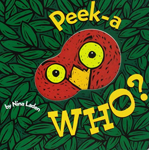Book Cover Peek-A Who?
