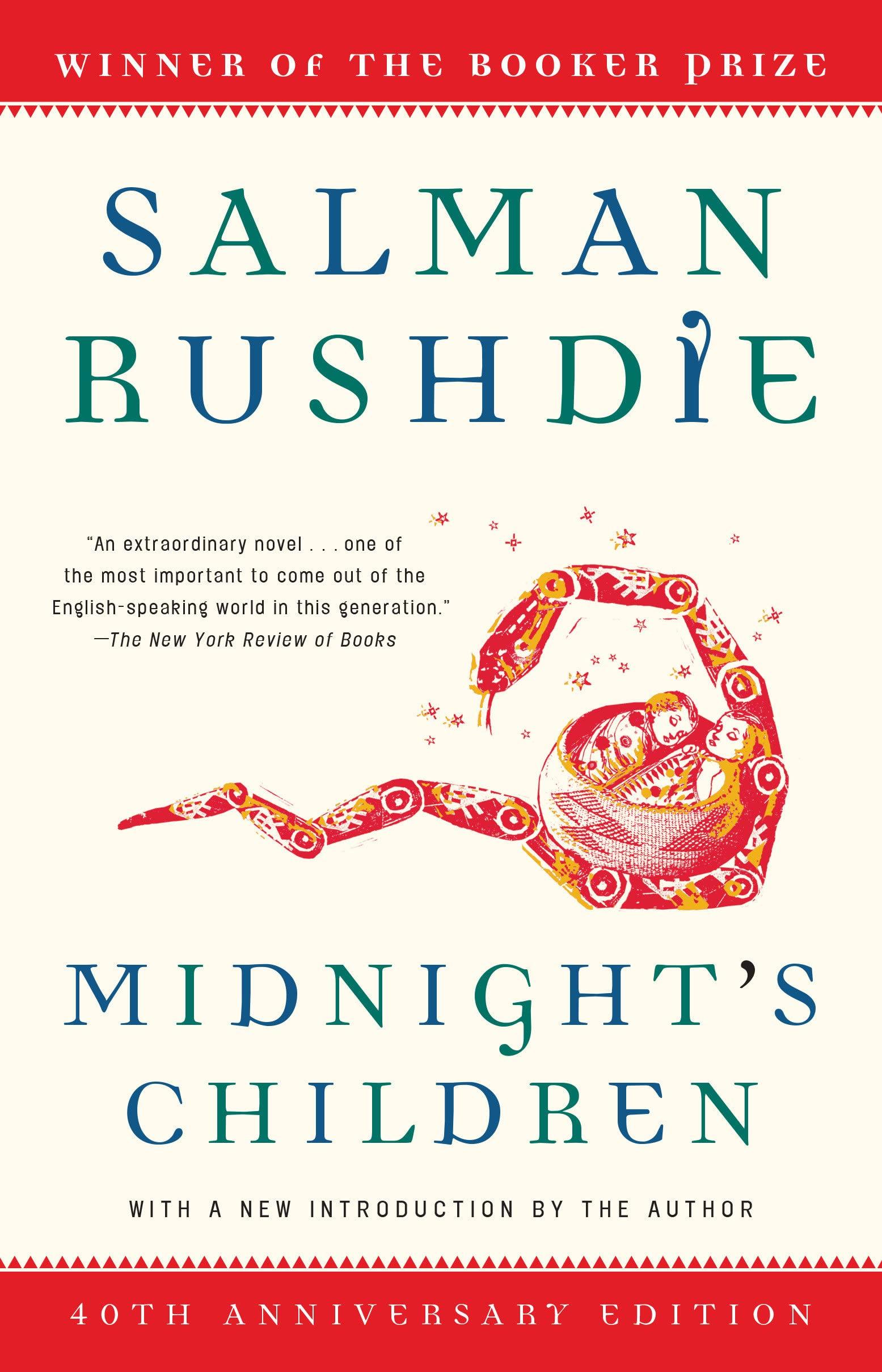 Midnight's Children: A Novel (Modern Library 100 Best Novels) by Salman Rushdie