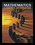 Book Cover Mathematics: A Discrete Introduction
