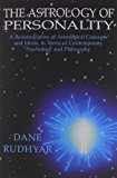 Book Cover The Astrology of Personality: A Re-Formulation of Astrological Concepts and Ideals, in Terms of Contemporary Psychology and Philosophy
