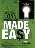 Book Cover Residential Mortgage Loan Origination Made Easy