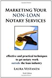 Book Cover Marketing Your Non-Loan Notary Services