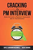 Book Cover Cracking the PM Interview: How to Land a Product Manager Job in Technology