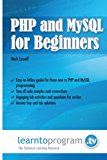 Book Cover PHP and MySQL for Beginners