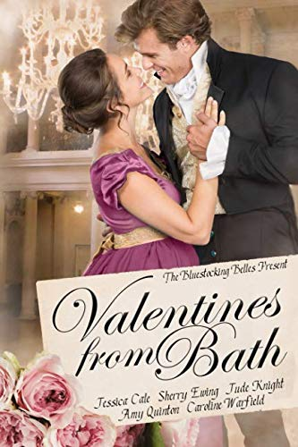 Book Cover Valentines From Bath: A Bluestocking Belles collection