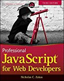 Book Cover Professional JavaScript for Web Developers