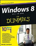 Book Cover Windows 8 All-in-One For Dummies