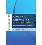 Book Cover Organic Chemistry As a Second Language: Second Semester Topics