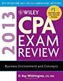 Book Cover Wiley CPA Exam Review 2013, Business Environment and Concepts (Wiley CPA Examination Review: Business Environment & Concepts)