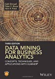 Book Cover Data Mining for Business Analytics: Concepts, Techniques, and Applications with XLMiner