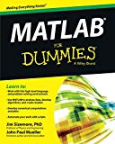 Book Cover MATLAB For Dummies