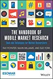 Book Cover The Handbook of Mobile Market Research: Tools and Techniques for Market Researchers
