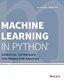 Book Cover Machine Learning in Python: Essential Techniques for Predictive Analysis