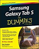 Book Cover Samsung Galaxy Tab S For Dummies