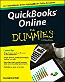 Book Cover QuickBooks Online For Dummies