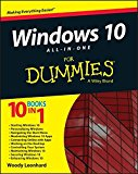 Book Cover Windows 10 All-in-One For Dummies
