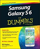 Book Cover Samsung Galaxy S6 for Dummies