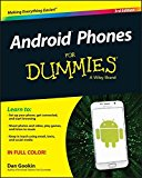 Book Cover Android Phones For Dummies
