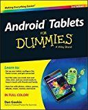 Book Cover Android Tablets For Dummies