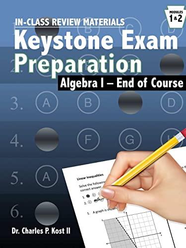 Algebra Keystone Exam Program In-Class Activities