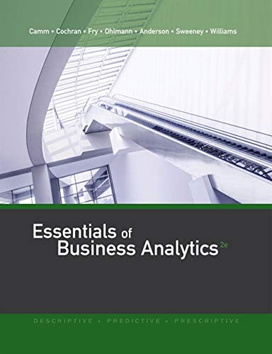 Essentials of Business Analytics