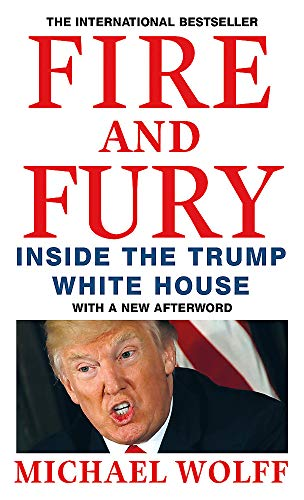 Book Cover Fire and Fury: Inside the Trump White House