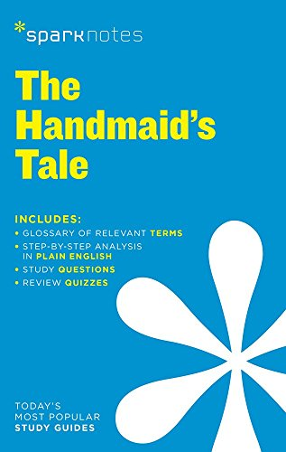Book Cover The Handmaid's Tale SparkNotes Literature Guide (SparkNotes Literature Guide Series)