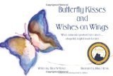 Book Cover Butterfly Kisses and Wishes on Wings: When someone you love has cancer...a hopeful, helpful book for kids