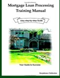Book Cover Mortgage Loan Processing Training