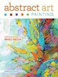 Book Cover Abstract Art Painting: Expressions in Mixed Media