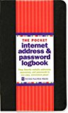 Book Cover Pocket-Sized Internet Address & Password Logbook