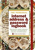 Book Cover Old World Internet Address & Password Logbook