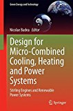 Book Cover Design for Micro-Combined Cooling, Heating and Power Systems: Stirling Engines and Renewable Power Systems (Green Energy and Technology)