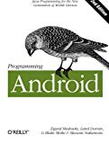 Book Cover Programming Android: Java Programming for the New Generation of Mobile Devices
