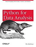 Book Cover Python for Data Analysis: Data Wrangling with Pandas, NumPy, and IPython