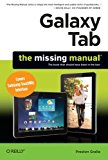 Book Cover Galaxy Tab: The Missing Manual: Covers Samsung TouchWiz Interface (Missing Manuals)