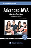 Book Cover Advanced JAVA Interview Questions You'll Most Likely Be Asked (Job Interview Questions Series)